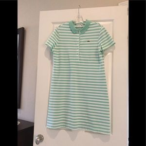 Lacoste Polo Dress- Stripped